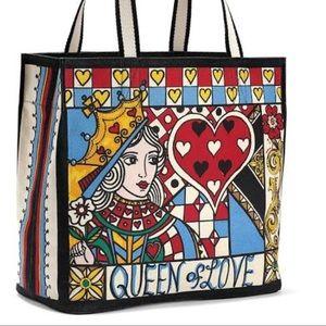 Brighton Queen of Hearts Tote